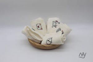 khăn mặt tơ tằm