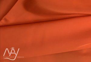 vải lụa tơ tằm bảo lộc màu cam